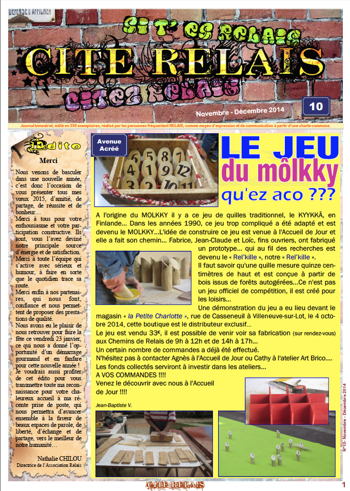 couverture journal 10